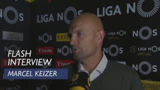 Liga (33ª): Flash Interview Marcel Keizer