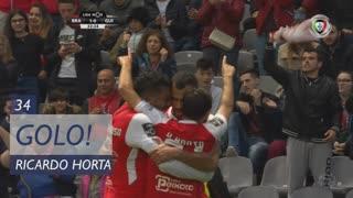 GOLO! SC Braga, Ricardo Horta aos 34', SC Braga 1-0 Vitória SC