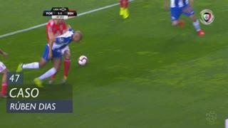 SL Benfica, Caso, Rúben Dias aos 47'