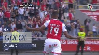 GOLO! SC Braga, Murilo aos 47', SC Braga 2-1 FC Porto