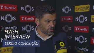 Liga (24ª): Flash Interview Sérgio Conceição