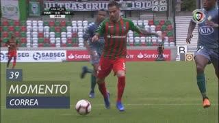 Marítimo M., Jogada, Correa aos 39'