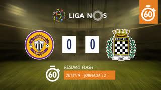 Liga NOS (12ªJ): Resumo Flash CD Nacional 0-0 Boavista FC
