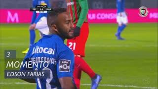 CD Feirense, Jogada, Edson Farias aos 3'