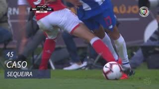 SC Braga, Caso, Sequeira aos 45'
