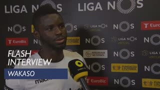 Liga (20ª): Flash Interview Wakaso