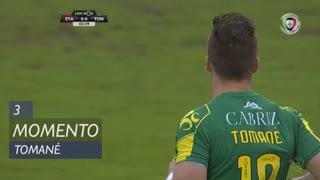 CD Tondela, Jogada, Tomané aos 3'