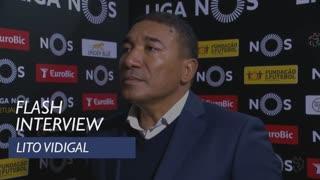 Liga (12ª): Flash interview Lito Vidigal