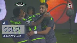 GOLO! Sporting CP, Bruno Fernandes aos 8', Rio Ave FC 0-1 Sporting CP