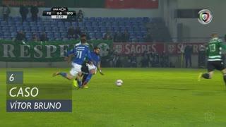 CD Feirense, Caso, Vítor Bruno aos 6'