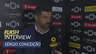 Liga (29ª): Flash Interview Sérgio Conceição