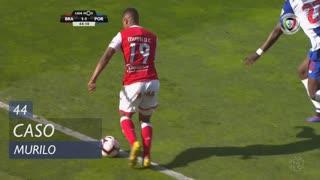 SC Braga, Caso, Murilo aos 44'