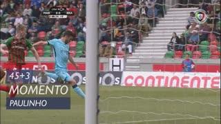SC Braga, Jogada, Paulinho aos 45'+3'