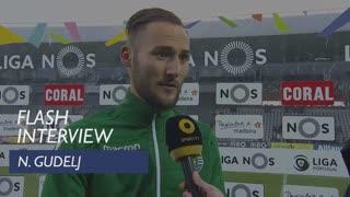 Liga (30ª): Flash Interview Gudelj