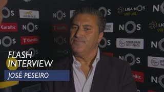 Liga (2ª): Flash interview José Peseiro