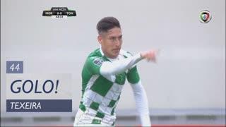 GOLO! Moreirense FC, Texeira aos 44', Moreirense FC 1-0 CD Tondela