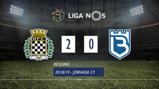 Liga NOS (27ªJ): Resumo Boavista FC 2-0 Os Belenenses