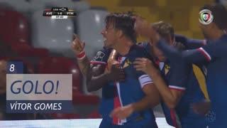 GOLO! CD Aves, Vítor Gomes aos 8', CD Aves 1-0 Portimonense