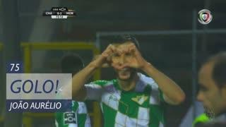 GOLO! Moreirense FC, João Aurélio aos 75', GD Chaves 0-2 Moreirense FC