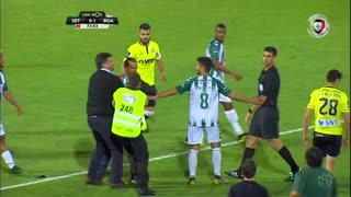 Vitória FC x Boavista FC: jogo interrompido