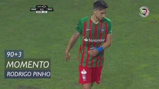 Marítimo M., Jogada, Rodrigo Pinho aos 90'+3'