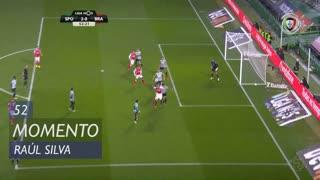 SC Braga, Jogada, Raúl Silva aos 52'