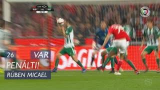 Vitória FC, Penálti, Rúben Micael aos 26'