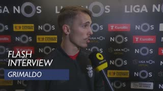 Liga (28ª): Flash Interview Grimaldo