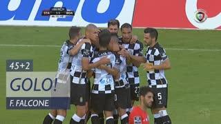 GOLO! Boavista FC, F. Falcone aos 45'+2', Sta. Clara 1-1 Boavista FC