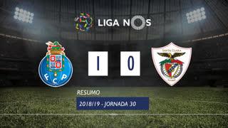 Liga NOS (30ªJ): Resumo FC Porto 1-0 Sta. Clara