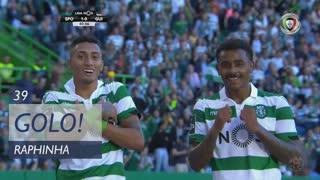 GOLO! Sporting CP, Raphinha aos 39', Sporting CP 1-0 Vitória SC