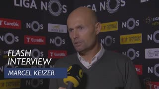 Liga (17ª): Flash interview Marcel Keizer