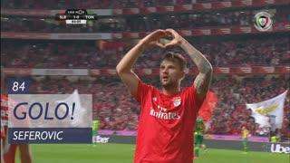 GOLO! SL Benfica, Seferovic aos 84', SL Benfica 1-0 CD Tondela