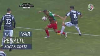Marítimo M., Penálti, Edgar Costa aos 13'