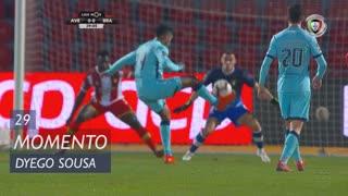 SC Braga, Jogada, Dyego Sousa aos 29'