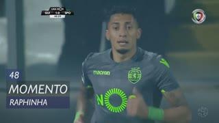 Sporting CP, Jogada, Raphinha aos 49'