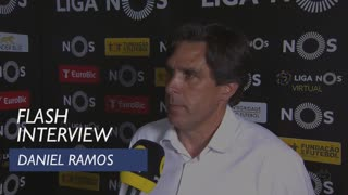 Liga (33ª): Flash Interview Daniel Ramos