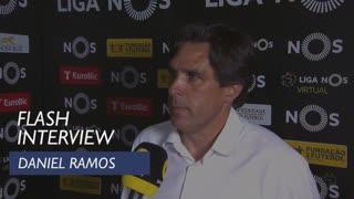 Liga (33ª): Flash Interview Daniel Ramos