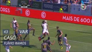 CD Feirense, Caso, Flávio Ramos aos 43'