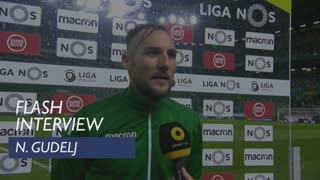 Liga (28ª): Flash Interview N. Gudelj