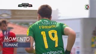 CD Tondela, Jogada, Tomané aos 81'