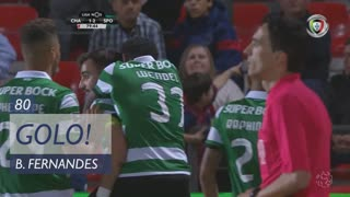 GOLO! Sporting CP, Bruno Fernandes aos 80', GD Chaves 1-2 Sporting CP