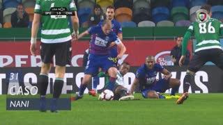 Sporting CP, Caso, Nani aos 31'