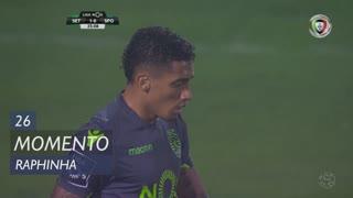 Sporting CP, Jogada, Raphinha aos 26'