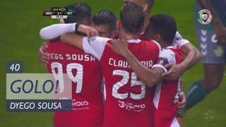 GOLO! SC Braga, Dyego Sousa aos 40', SC Braga 2-1 Vitória FC