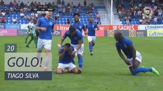 GOLO! CD Feirense, Tiago Silva aos 20', CD Feirense 1-0 Rio Ave FC
