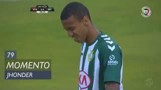 Vitória FC, Jogada, Jhonder aos 79'