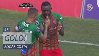 GOLO! Marítimo M., Edgar Costa aos 43', Marítimo M. 2-0 CD Feirense
