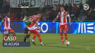 Sporting CP, Caso, M. Acuña aos 68'
