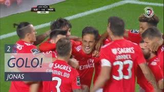 GOLO! SL Benfica, Jonas aos 2', SL Benfica 1-0 Moreirense FC